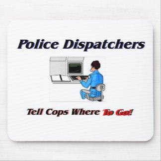 Police Dispatchers Mouse Mat