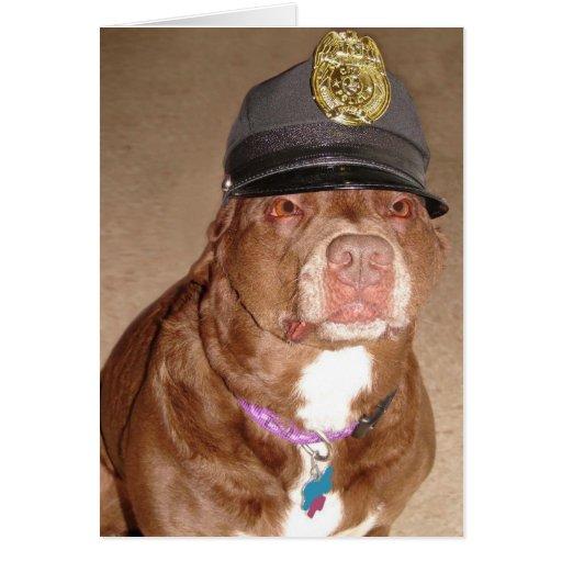 Police Dog Greeting Cards
