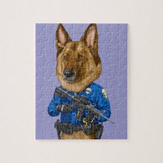 Police Dog Jigsaw Puzzle