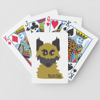 Police Dog Bicycle Card Deck