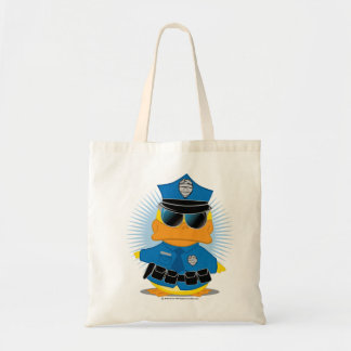 Police Duck Tote Bag
