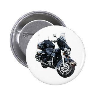 Police Edition Harley Davidson 6 Cm Round Badge