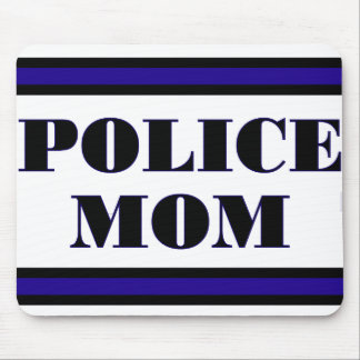 Police Family Mouse Mat