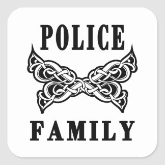 Police Family Tattoos Stickers