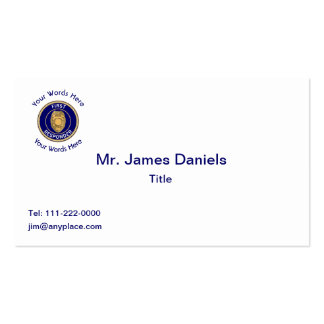 Police First Responder Pack Of Standard Business Cards