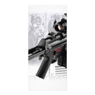 Police Gun Rack Cards