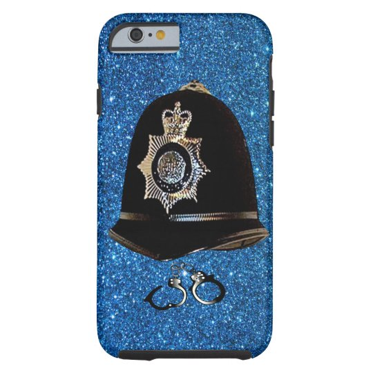 POLICE HELMET AND CUFFS iPHONE 6 BARELY THERE
