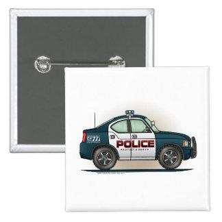 Police Interceptor Car Cop Car Button Pin