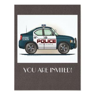 Police Interceptor Car Cop Car Card
