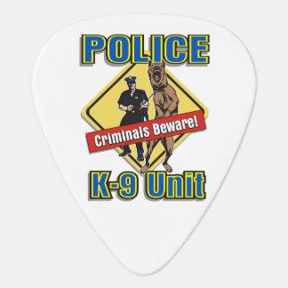 Police K9 Criminals Beware Guitar Pick