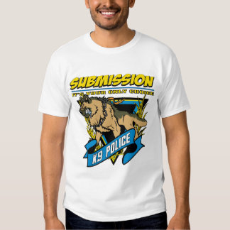 Police K9 Submission T Shirts