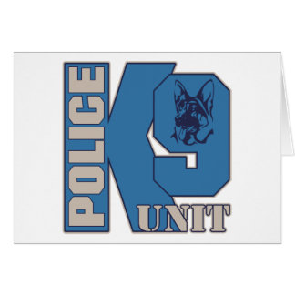 Police K9 Unit Dog Cards