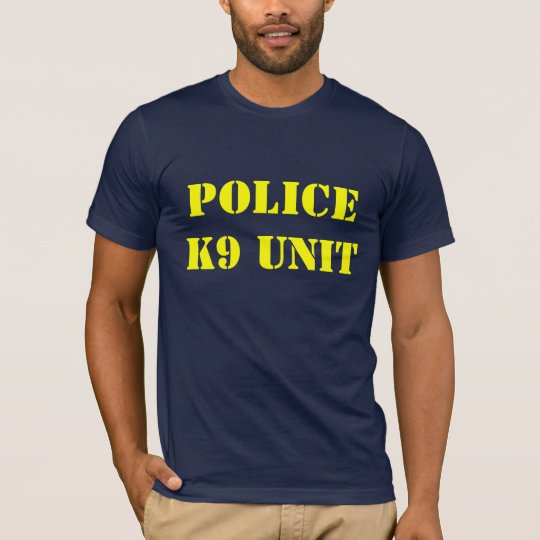 POLICE K9 UNIT T-Shirt
