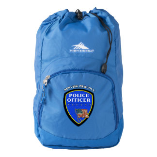 Police Law Enforcement Backpack