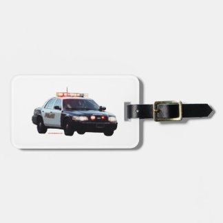 Police_Lights_texturizer Luggage Tag