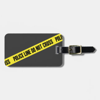 Police Line DO NOT CROSS Luggage Tag
