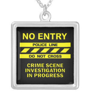 Police Line necklace