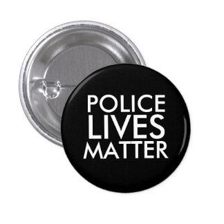 """POLICE LIVES MATTER"" 3 CM ROUND BADGE"