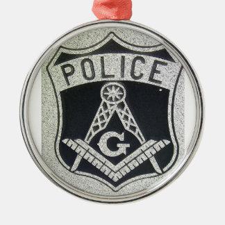 Police Masonic Ornament