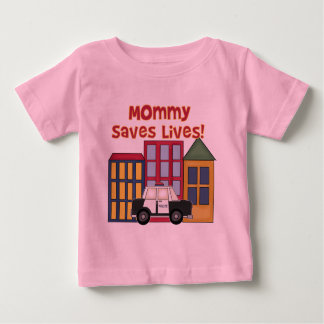 Police Mommy Saves Lives T-shirts and  Gifts
