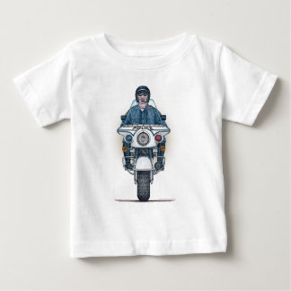 Police Motorcycle Infant T-Shirt