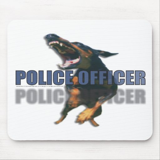 POLICE MOUSE PAD