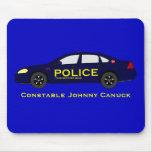 Police Mousepad - Canada
