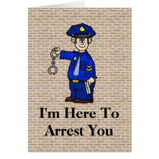 Police Birthday Cards Invitations Zazzle Co Uk