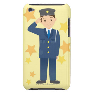 Police Officer Barely There iPod Cover