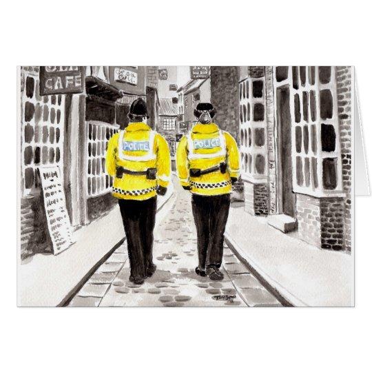 Police Officer Birthday Card