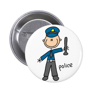 Police Officer Button