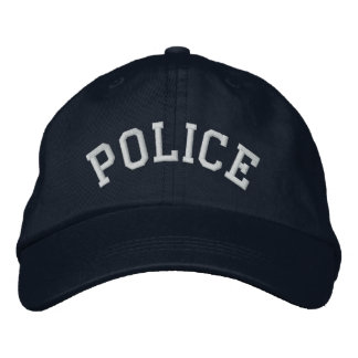 Police Officer Cop Law Enforcement Officer LEO Embroidered Hats