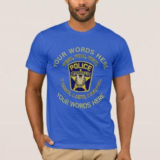 Police Officer Custom T-Shirt