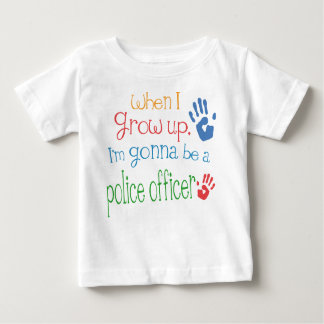 Police Officer (Future) Infant Baby T-Shirt