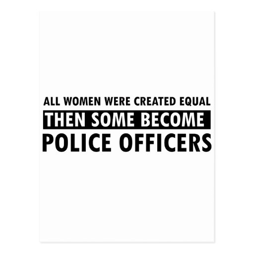 Police Officer Gift Items Post Cards