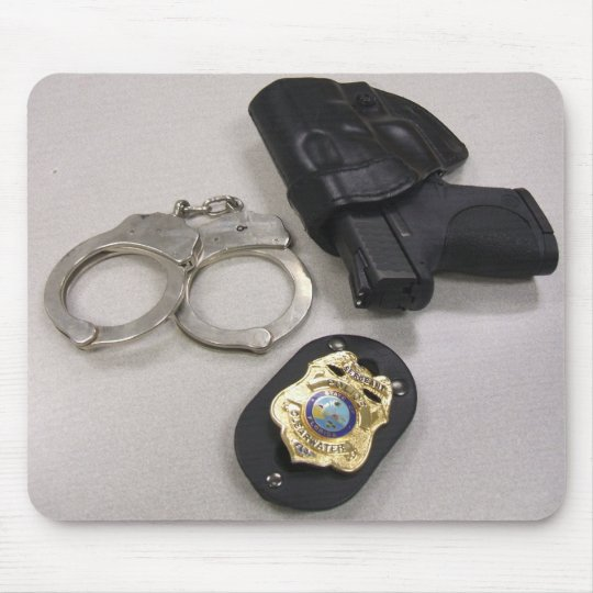 Police Officer Mouse Mat