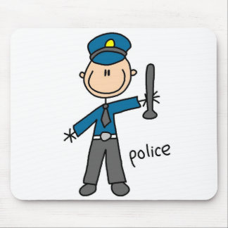 Police Officer Mousepad