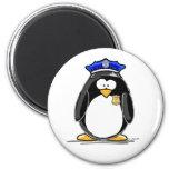 Police Officer Penguin Fridge Magnets