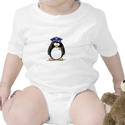 Police Officer Penguin Tee Shirt
