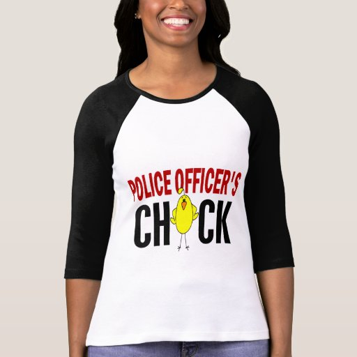 Police Officer's Chick 1 Tee Shirt