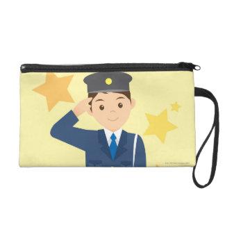 Police Officer Wristlet