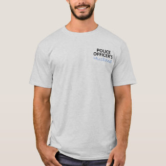 Police Officer's Husband T-Shirt