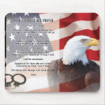 Police Officers Prayer Mousepad