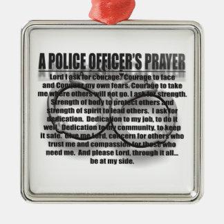 POLICE OFFICERS PRAYER ORNAMENT