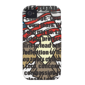 POLICE OFFICERS PRAYER WITH EAGLE iPhone 4/4S COVER