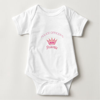 Police Officers Princess Baby Bodysuit