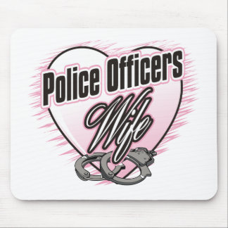 Police Officers Wife Mouse Mat