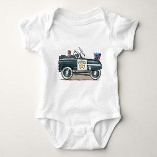 Police Pedal Car Cop Car Baby Bodysuit