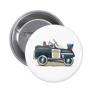 Police Pedal Car Cop Car Button Pin
