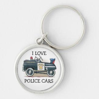 Police Pedal Car Cop Car Keychains